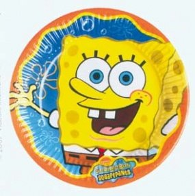 Sponge Bob Party Teller Plates Large 23cm