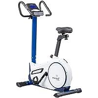 Preisvergleich für skandika Ergometer Morpheus, Fitnessbike, Heimtrainer mit Bluetooth, Pulsgurt, 32 einstellbare Widerstandseinstellung und Multifunktionscomputer mit Kalorienverbrauch, Puls