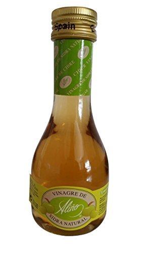 Vinagre de Sidra de Manzana Gourmet - 250 ml - Vinagre de España de Alta Calidad, Envejecido en Barrica de Roble - Gran Variedad de Ricos Sabores y Aromas Intensos - Una Tradición de 50 Años.