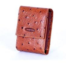 Pitillera fabricada en piel de vacuno, producto de fabricación propia en nuestro taller, de forma artesanal. Puede encontrar billetera y llavero a juego en nuestro catalogo.