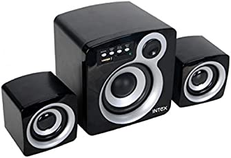 Intex IT-850U 2.1 Channel Multimedia Speakers (Grey and Black)