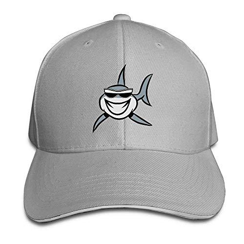 ewtretr Sandwich Baseball Cap Trucker Style Hats Cl Sunglasses Shark  Adjustable Unisex Suitable For All Seasons d34ce78e87de