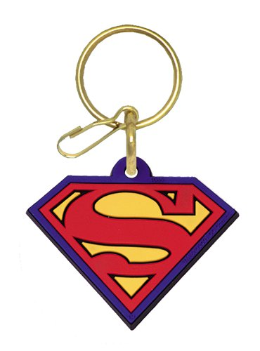 Click for larger image of Superman Plastisol Key Chain by Plasticolor