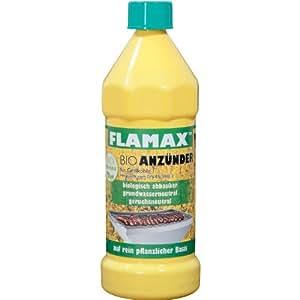 Flamax Bio-Anzünder Flüssig 800 ml
