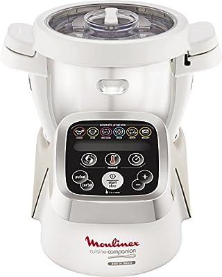 Moulinex Cuisine Companion - Robot de cocina, 6 programas automáticos, capacidad hasta 6 personas