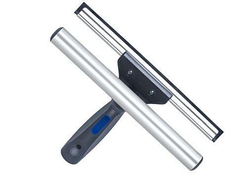 Abzieher und Fensterwischer in einem, in 3 Größen: 25 cm, 35 cm und 45 cm | inklusive einer Gratisprobe Profi-Glasreiniger (35 cm) - 5