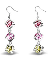 31196e37fab Gespout Boucles d oreilles Femme fantaisie Boîte pendentif Alliages Élégant  Accessoires de bijoux Fête de