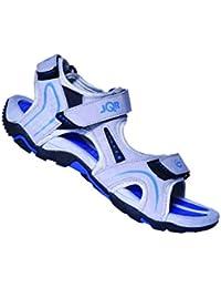 JQR Mens L Grey R Blue Outdoor Sandals UK