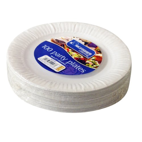 kingfisher-kcp1007-white-disposable-paper-plates-7-pack-of-100-by-party-solutions
