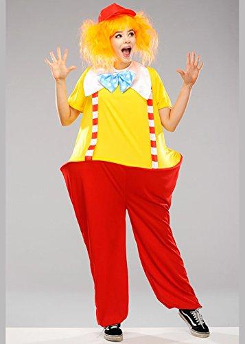 Magic Box Int. Erwachsene Größe Tweedle Dum oder Tweedle Dee Stil Kostüm S/M (Dum Kostüme Dee Tweedle Erwachsenen Und Tweedle)