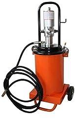 fahrbare Profi Druckluft-Fettpresse mit 12 Liter Inhalt