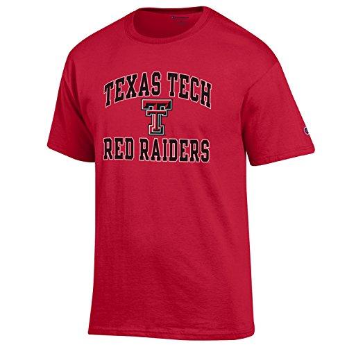 online retailer dba3d 2eb22 NCAA Texas Tech Red Raiders Men s Champs Short Sleeve T-Shirt, Medium,  Scarlet
