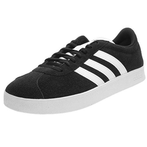 adidas Herren VL Court 2.0 Gymnastikschuhe Schwarz (Core Black/ftwr White/ftwr White)