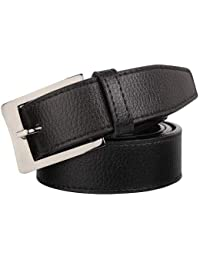 Lime Wear Black Men's PU Leather Belt(LW-MB-001)