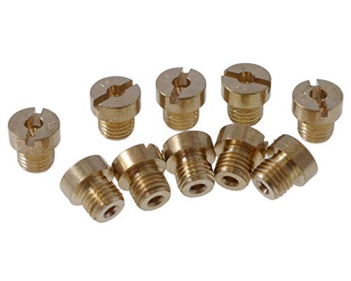 Düsenset (10Stk) 2EXTREME für DELLORTO M6 / 6mm 60-105