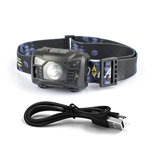 Mini-Scheinwerfer im Freien Scheinwerfer Wasserdichte Blitzkopf-Lampen-Fackel Laterne für im Freien kampierende Jagd Nachtangeln