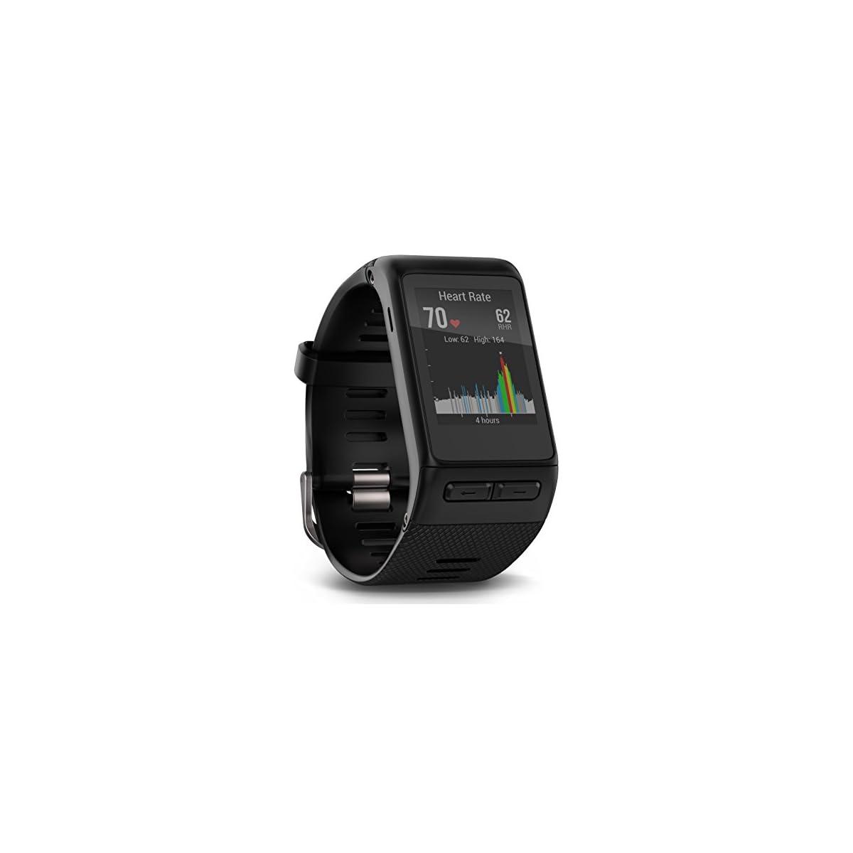 41J6EQywWYL. SS1200  - Garmin Vívoactive HR - Reloj con pulsómetro Integrado, Unisex, Color Negro, Talla XL (Reacondicionado Certificado)