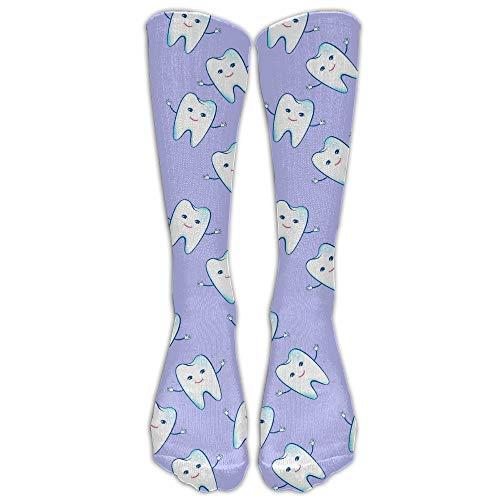 Dot Skimmer (Funny Caps Happy Teeth Comfort Cool Vent Crew Socks 19.68 in/50 cm)