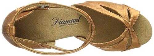dark Standard Tanzschuhe Diamant amp; 087 141 Latein Tan Braun 379 Damen RRYzwX