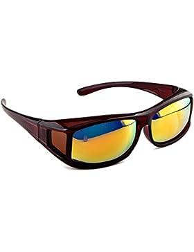 Gafas de sol superpuestas ACTIVE SOL para hombres   Gafas de sol superpuestas UV400   polarizadas   Gafas polarizadas...