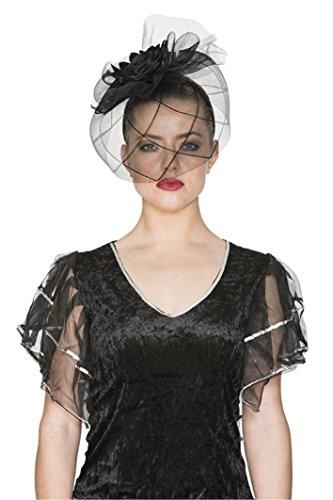 SCHLEIER - SCHWARZE WITWE - am - Schwarze Für Kostüm Erwachsene Witwe