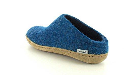 Glerups , Chaussons pour homme Bleu - Bleu