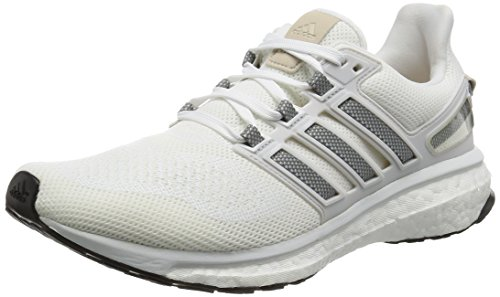 adidas Energy Boost 3 M, Chaussures de Running Homme Blanc (Ftwr White/Ch Solid Grey/Crystal White)