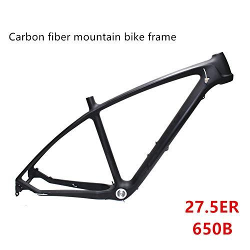SXMXO MTB Mountainbikes Rahmen 27.5er, T700 UD Carbon Fahrradrahmen MTB 27.5er 17 Fahrrad Carbonrahmen