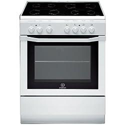 Indesit I6V6C1A.H(W)/FR Autonome Céramique A Blanc four et cuisinière - Fours et cuisinières (Cuisinière, Blanc, Rotatif, Devant, Céramique, Verre-céramique)