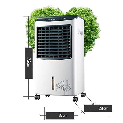 MU Home Wohnzimmer Schlafzimmer Fan-Fan Super Wind Leise Kühlung Industrie 3-in-1 Mechanische Klimaanlage Luftbefeuchter und Luftreiniger Funktion, 3 Geschwindigkeiten mit Oszillation, Wassertank 8L, -
