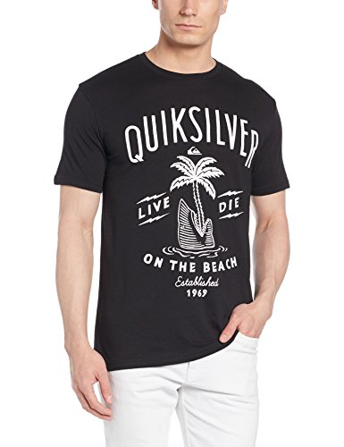 quiksilver-classic-tee-ss-shark-island-t-shirt-homme-noir-fr-l-taille-fabricant-l