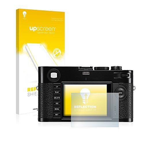 upscreen Entspiegelungs-Schutzfolie kompatibel mit Leica M (Typ 240) - Anti-Reflex Displayschutz-Folie Matt