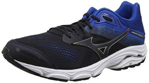 Mizuno Wave Inspire 15, Zapatillas de Running para Hombre, Negro (BlueGraphite/BlueGraphite/SnorkelBlue 21), 43 EU