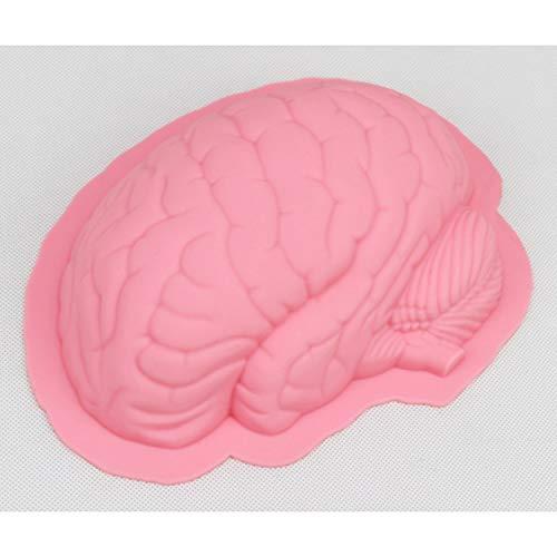 Halloween 3D Kreative Gehirn Form Silikon Kuchen Backen Werkzeuge Kuchen Dekorieren Küche Backen Werkzeuge Einheitsgröße rose