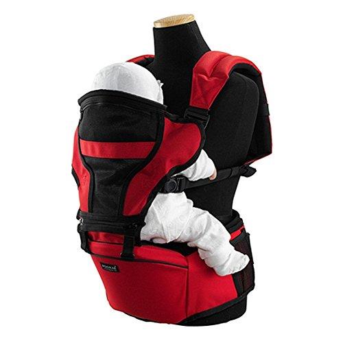 Pognae Smart Hipseat 3en 1, Porte-bébé (Rouge) Pognae
