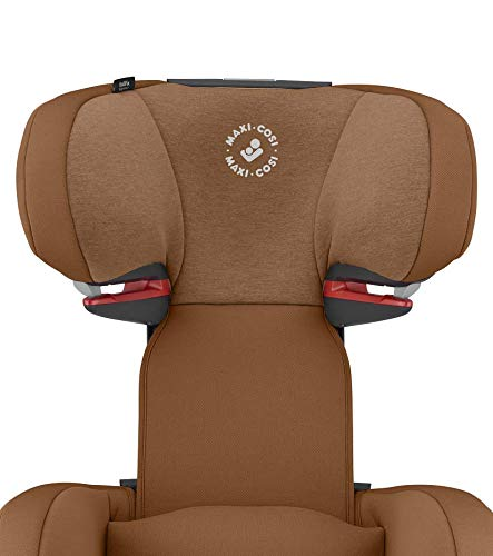 Maxi-Cosi RodiFix AirProtect Child Car Seat, Isofix Booster Seat, Cognac, 15-36 kg Maxi-Cosi Booster car seat for children from 15-36 kg (3.5 to 12 years) Grows along with your child thanks to the easy headrest and backrest adjustment from the top Patented air protect technology for extra protection of child's head 8