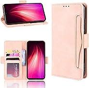 LODROC Cover Xiaomi Redmi Note 8 Flip Cover Custodia Protettiva Caso Libro in Pelle PU con Portafoglio, Funzio