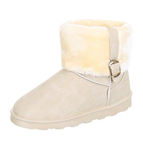 Enfants chaussures 2010, bOOTS usé, bottes fille Beige - Beige