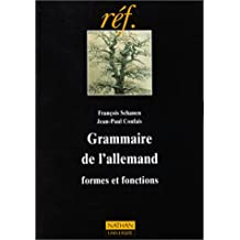 Grammaire de l'Allemand : formes et fonctions