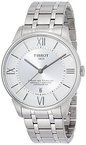 TISSOT - Montre Homme Tissot Chemin Des Tourelles Automatique COSC