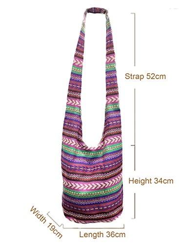 NiNE CiF Borsa da spiaggia, floral 1055 (multicolore) - 026# floral 272