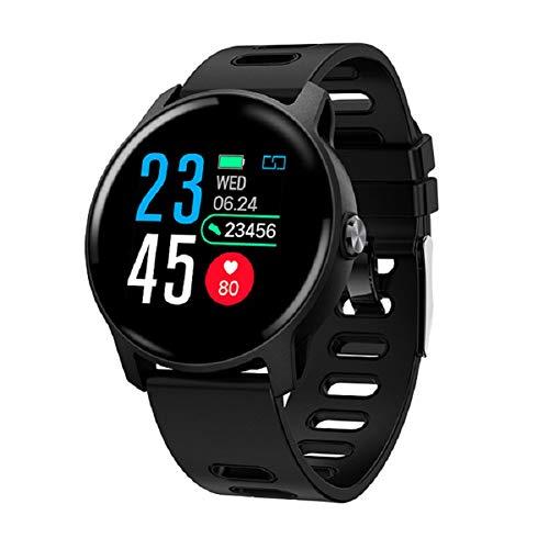 Cossll498 S08 Waterproof 1.3inch Heart Rate Sleep Monitor Multi-Sports Smart Bracelet Schwarz
