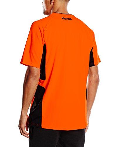 Kempa Erwachsene Trikot Schiedsrichter Fluo Orange/dunkel Anthra