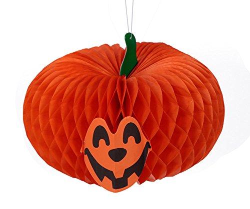 Lot de 2 Fête d'Halloween Décoration Propriété Ornement accrochant, Citrouille