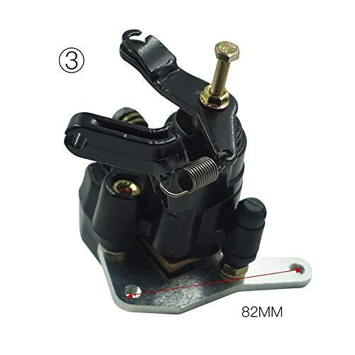 ZHOUQINMEI Bremssattelauflagen für Hinterräder für Yamaha ATV Warrior Banshee Blaster Raptor 200 250 350 660 1987-2006 (Farbe : Model C) -