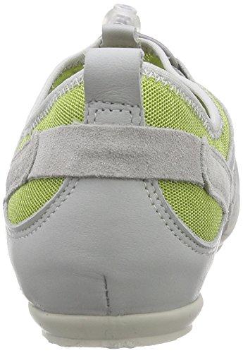 Salamander Limona, Baskets Basses femme Multicolore - Mehrfarbig (lt.grey,lt.green/grey 25)