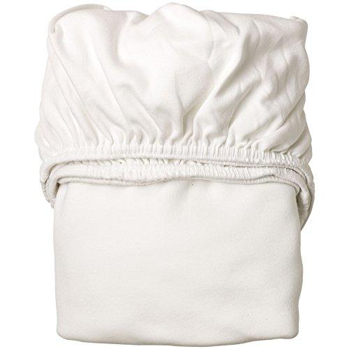 Leander – Baby-Laken Spannbetttuch für Leander Babybett 70 x 120 cm, 2 Stück