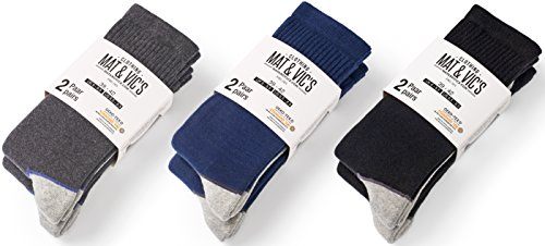 Mat and Vic's Cotton Classic Thermo Socken (6 Paar, 43-46) - 2