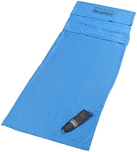 Semptec Urban Survival Technology Hütten-Schlafsack aus Mikrofaser, Rechteckform -