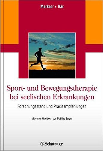 Sport- und Bewegungstherapie bei seelischen Erkrankungen